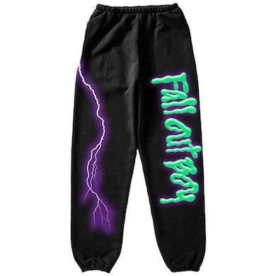 Fall Out Boy Lightning Sweat Pants