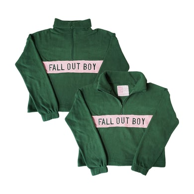 Fall Out Boy Green Fleece Pullover