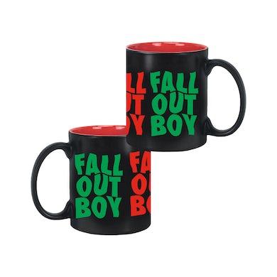 Fall Out Boy Repeat Holiday Mug