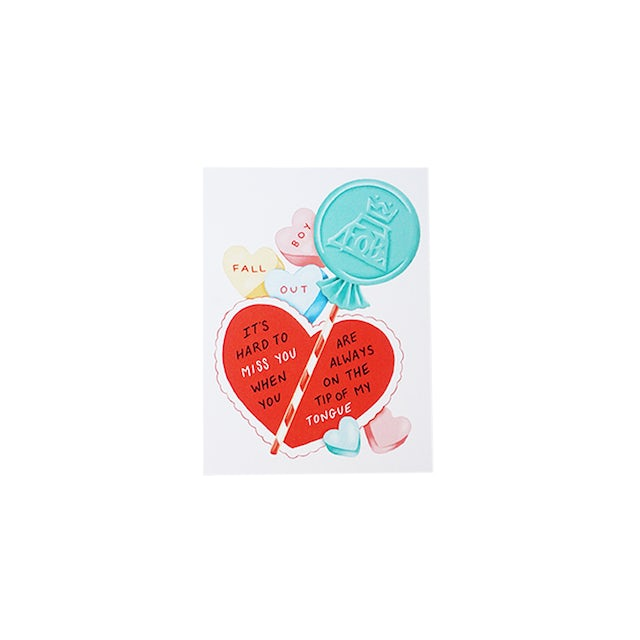 Fall Out Boy Valentine's Day Notecard Set