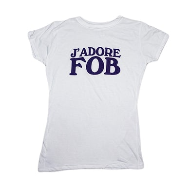 Fall Out Boy Ladies J'adore Tee