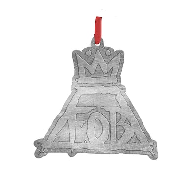 Fall Out Boy Pewter FOB Logo Ornament