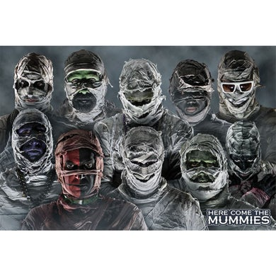 Here Come the Mummies HCTM Poster