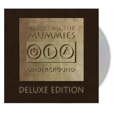 Here Come the Mummies Underground Deluxe CD + Download