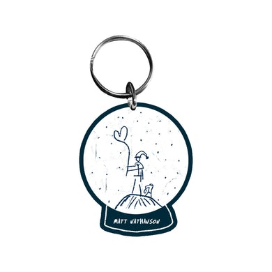 Matt Nathanson Snowglobe Keychain