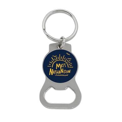 Matt Nathanson Blue Sunrise Bottle Opener Keychain