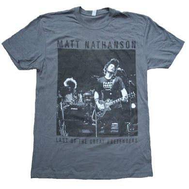 Matt Nathanson Last of the Great Pretenders Grey Tee