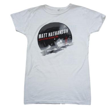 Matt Nathanson Sutro Tower Tour Tee White