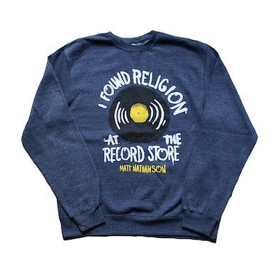 Matt Nathanson Record Store Crewneck