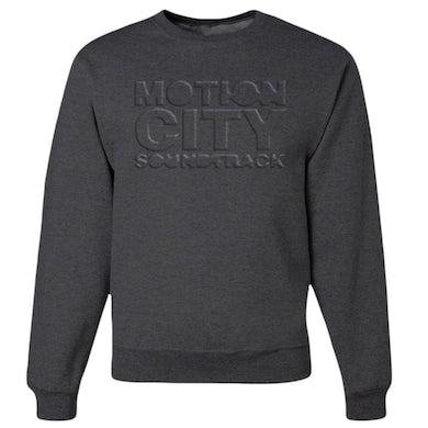 Motion City Soundtrack Embossed Logo Crewneck