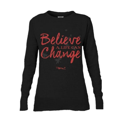 Red Believe Long Sleeve