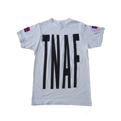 The Naked And Famous White TNAF Ladies Tee
