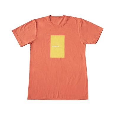 Coral Sunseeker Vintage Wash Recycled Block Tee
