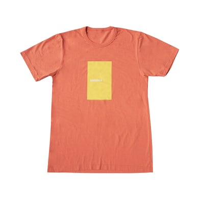 The Naked And Famous Coral Sunseeker Vintage Wash Recycled Block Tee