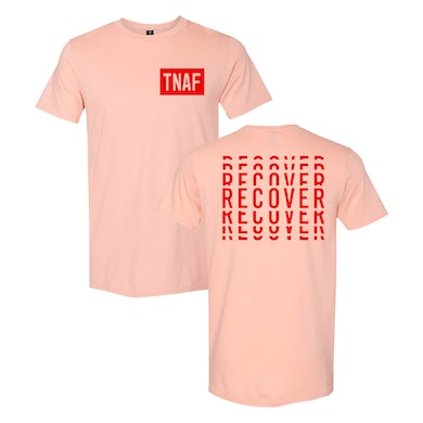 The Naked And Famous Recover Pink Tee