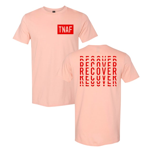 The Naked And Famous Recover Pink Tee [Pre Order]