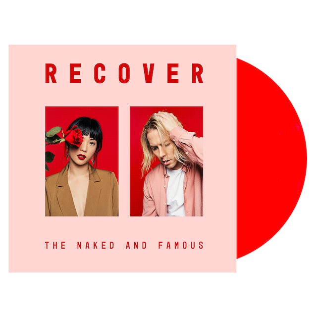 The Naked And Famous Recover Vinyl (Transparent Red Vinyl or Black Vinyl) [Pre Order]
