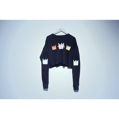 Train Crown Crop Sweatshirt