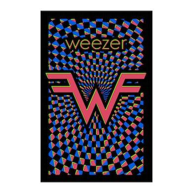 Weezer Black Light Poster