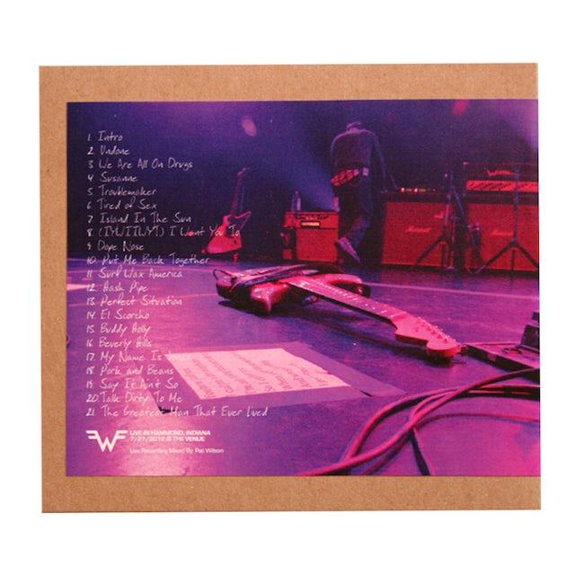 Weezer Live Show CDs