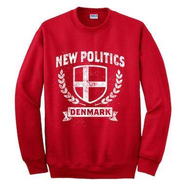 New Politics Denmark Crewneck Red