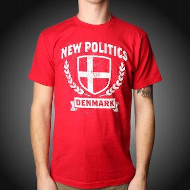 New Politics Red Denmark T-Shirt