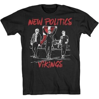 New Politics Vikings Photo Tee