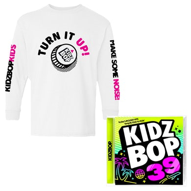 f82adb7c Kidz Bop Turn It Up Longsleeve Tee
