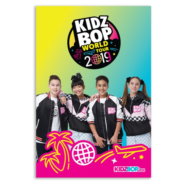 Kidz Bop World Tour 2019 Poster