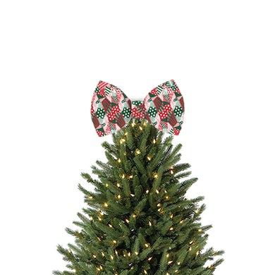 Sia Tree Topper Bow