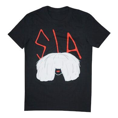 Sia Big Wig Tee