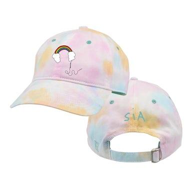 Sia Headphones Tie Dye Twill Cap
