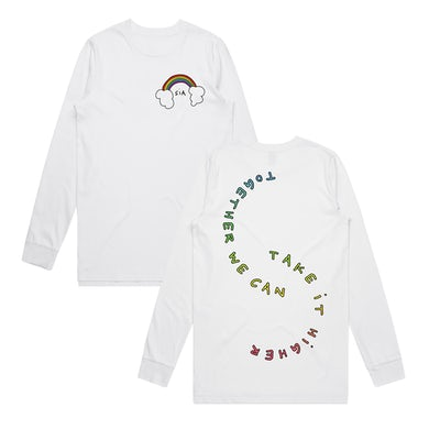 Sia Together Gradient Logo Long Sleeve