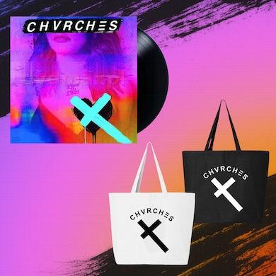 Chvrches Vinyl + Tote  Bundle