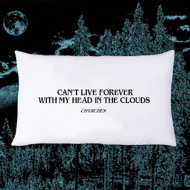Chvrches Head In The Clouds Pillowcase [LIMITED]