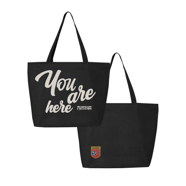 Pilgrimage Festival You Are Here Tote