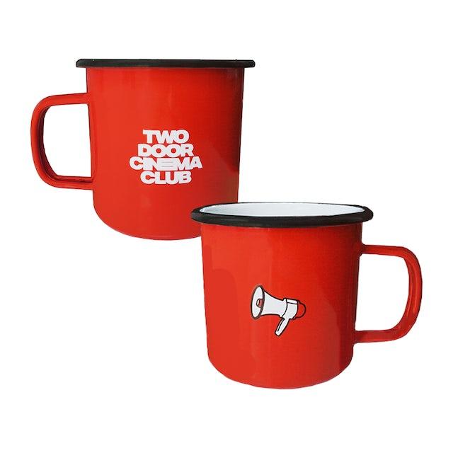 Two Door Cinema Club Enamel Mug