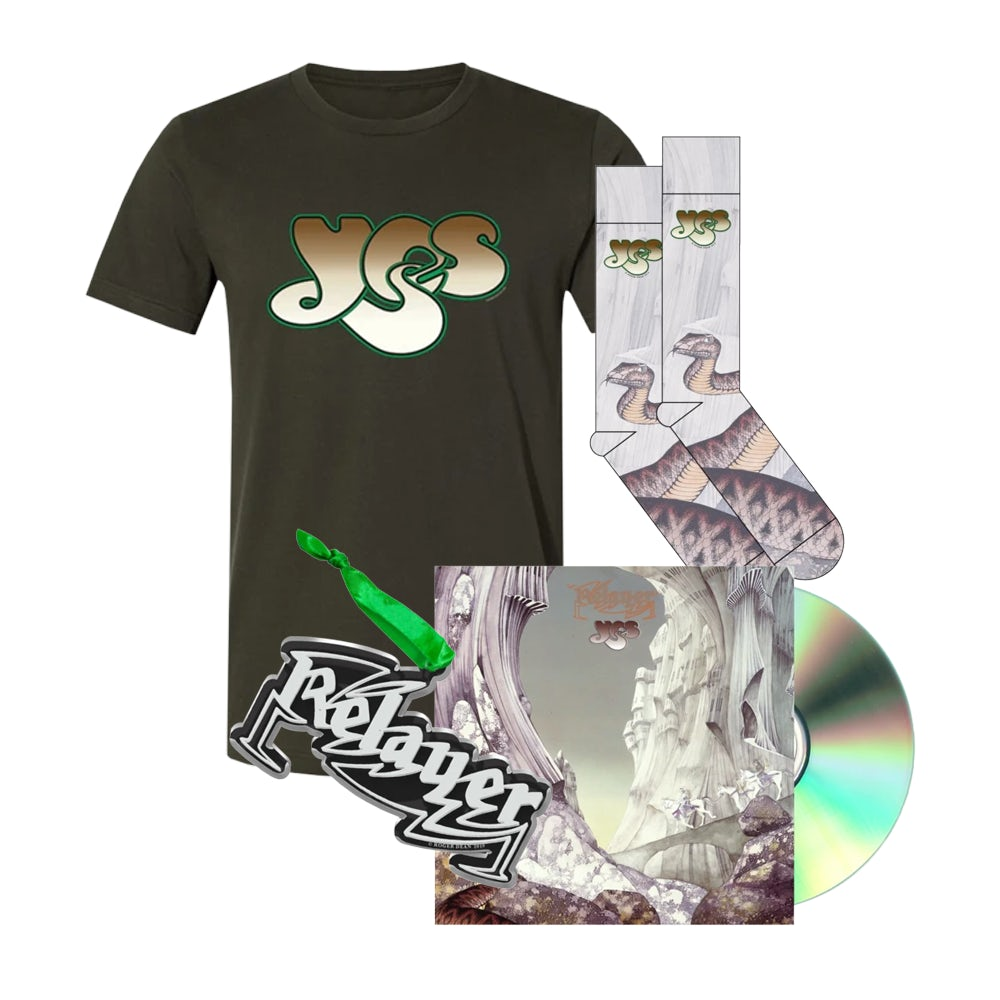 """Yes /""""Relayer/"""" Dye Sublimation T-Shirt"""