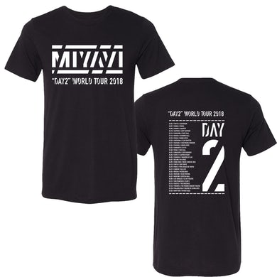 MIYAVI BLACK DAY 2 WORLD TOUR TEE