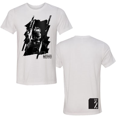 MIYAVI WHITE PHOTO TEE