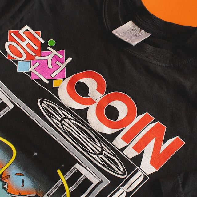 COIN Korean Black T-Shirt