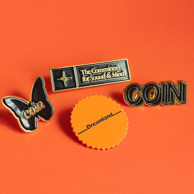 COIN Enamel Pin Set