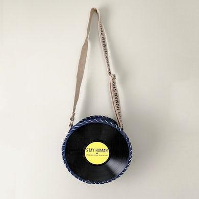 Handmade In Bali Vinyl Record Bag
