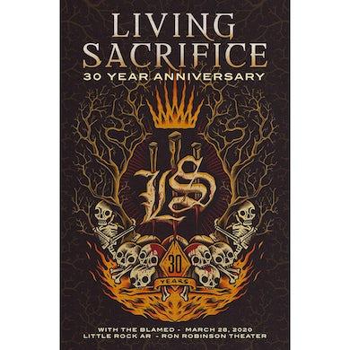 Living Sacrifice 30 Year Anniversary Show Poster