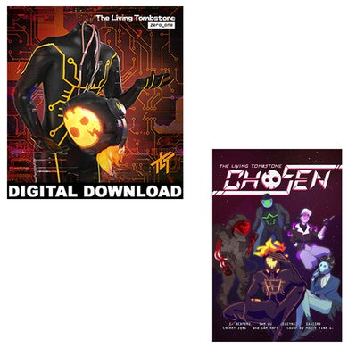 The Living Tombstone Zero_One Digital Album + Chosen Comic Book