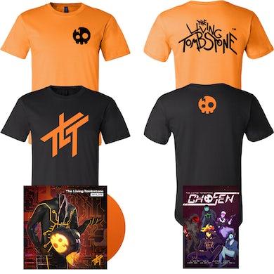 Two T Shirt's + Zero_One Vinyl Record + Chosen Comic Book