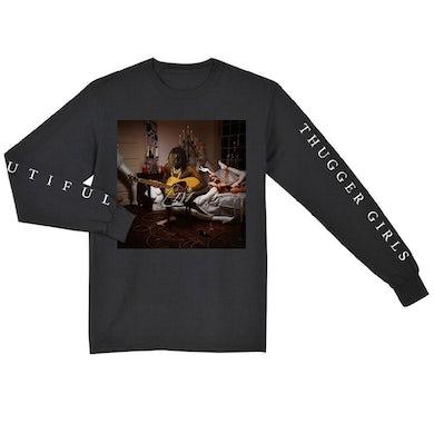 Young Thug Beautiful Thugger Girls Longsleeve T-Shirt