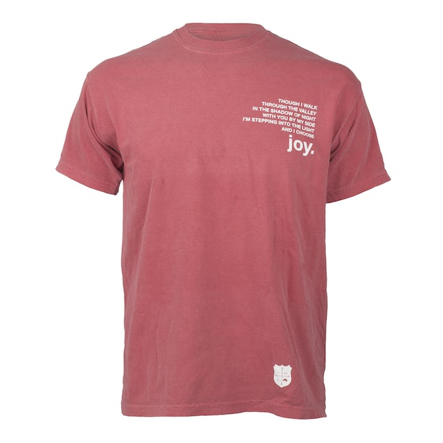 for KING & COUNTRY Burn The Ships Tee - Red