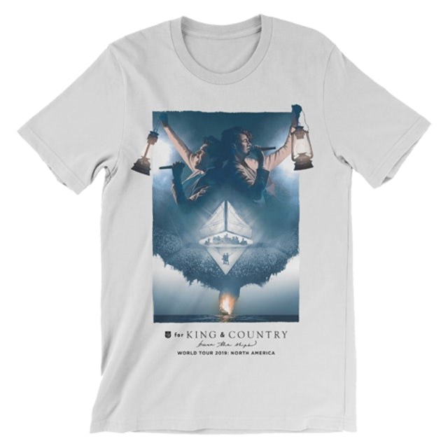 for KING & COUNTRY 2019 Fall Tour Grey Tee