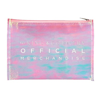 for KING & COUNTRY Pink Iridescent Coin Purse